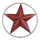 Rustic Star Metal Wall Plaque at Kirkland's