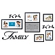 Family Decorative Photo Wall Plaque, Set of 8 at Kirkland's