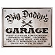 Big Daddy's Garage Wall Plaque at Kirkland's