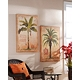 Island Palm Outdoor Canvas Art Print, Set of 2 at Kirkland's