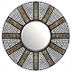 Athena Mosaic Wall Mirror, 26 in. at Kirkland's
