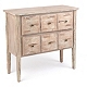 Distressed Whitewash 2-Drawer Chest at Kirkland's