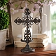 Cast Iron Cross Candle Holder, 12.5 in. at Kirkland's