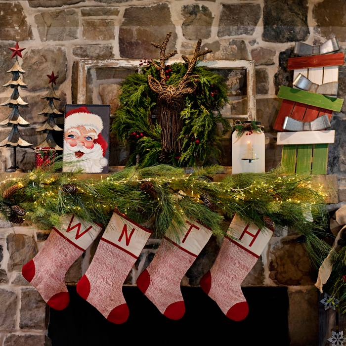 Christmas decorating entertaining ideas kirklands for Kirkland home decorations