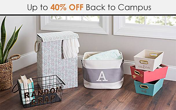 Up to 40% Off Back to Campus