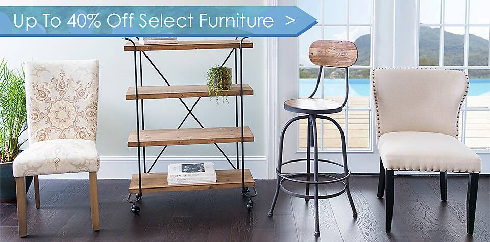 Up to 40% Off Select Furniture