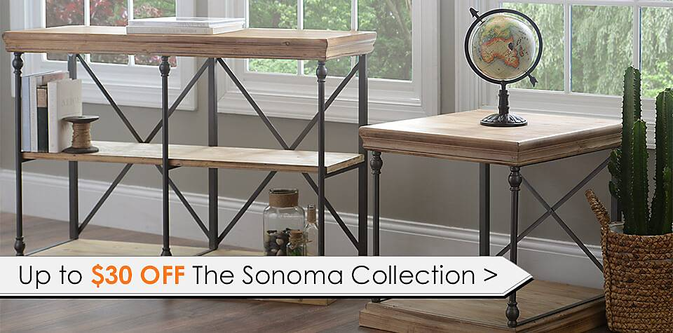 Up to $30 Off Sonoma Collection - Shop Now