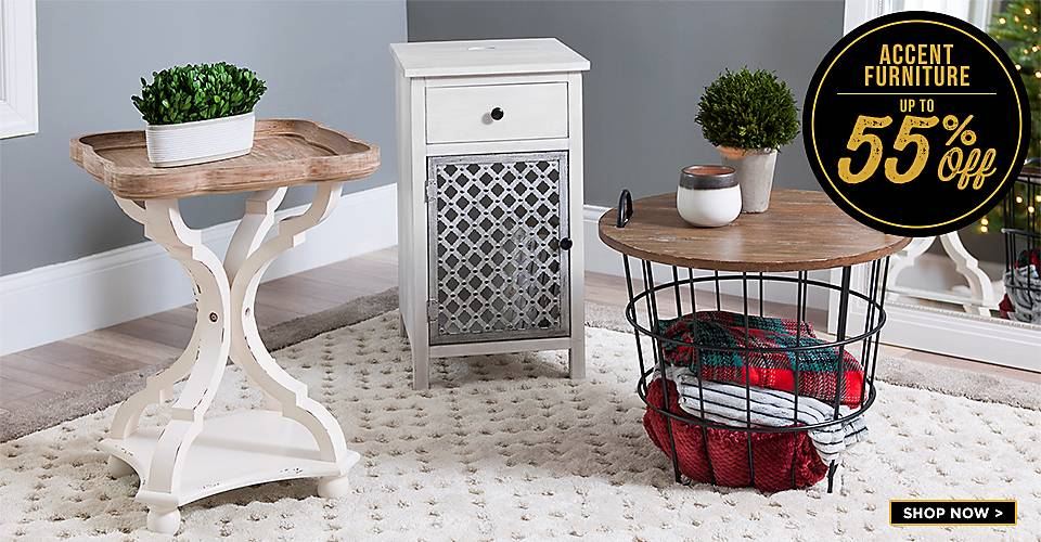 Up to 55% Off Accent Furniture - Shop now