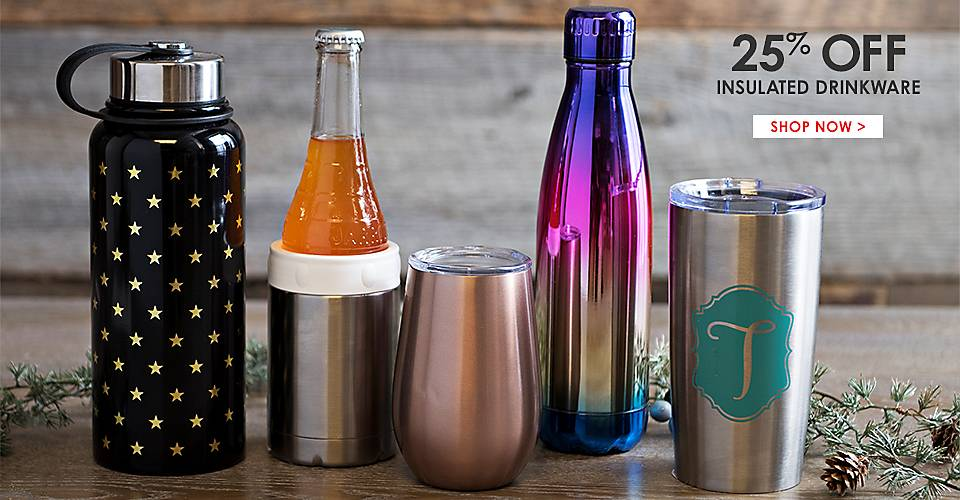 25% Off Insulated Drinkware - Shop Now
