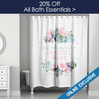 20% off All Bath Essentials - Online Only