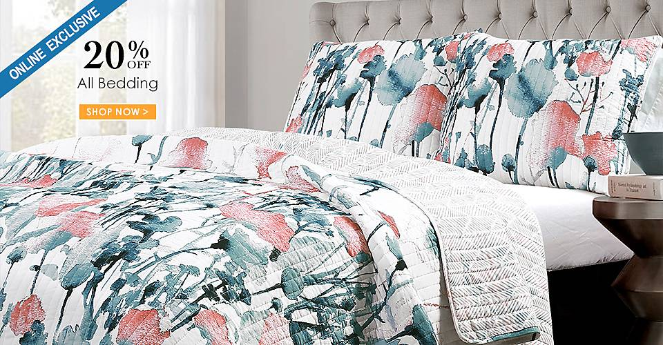 Online Only - 20% off All Bedding - Shop Now