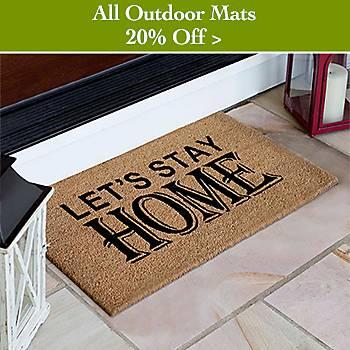 20% off Outdoor Doormats