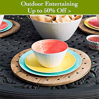 Up to 50% off Outdoor Entertaining