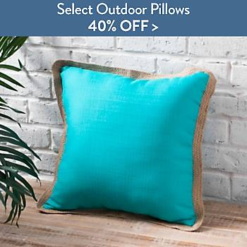 40% off Select Outdoor Pillows