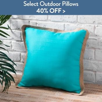 40% off Select Outdoor Pillows