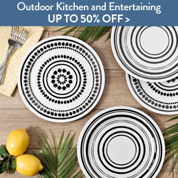 Up to 50% off Outdoor Kitchen and Entertaining