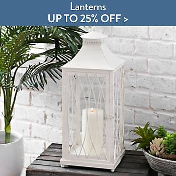 Up to 25% off Lanterns