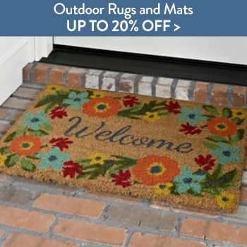 Up to 20% off Outdoor Rugs and Mats
