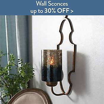 Wall Sconces up to 30% off