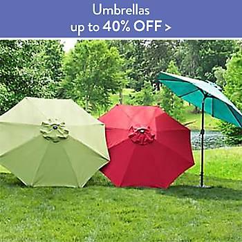 Up To 40% off Umbrellas