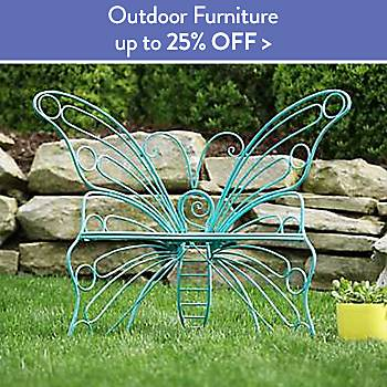 Up To 25% off Outdoor Furniture