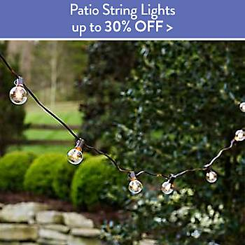 Up To 30% off Patio String Lights