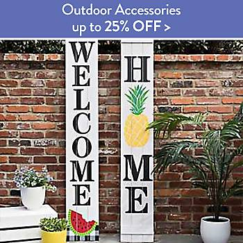 Up To 25% off Outdoor Accessories