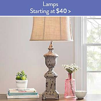 Lamps Starting at $40