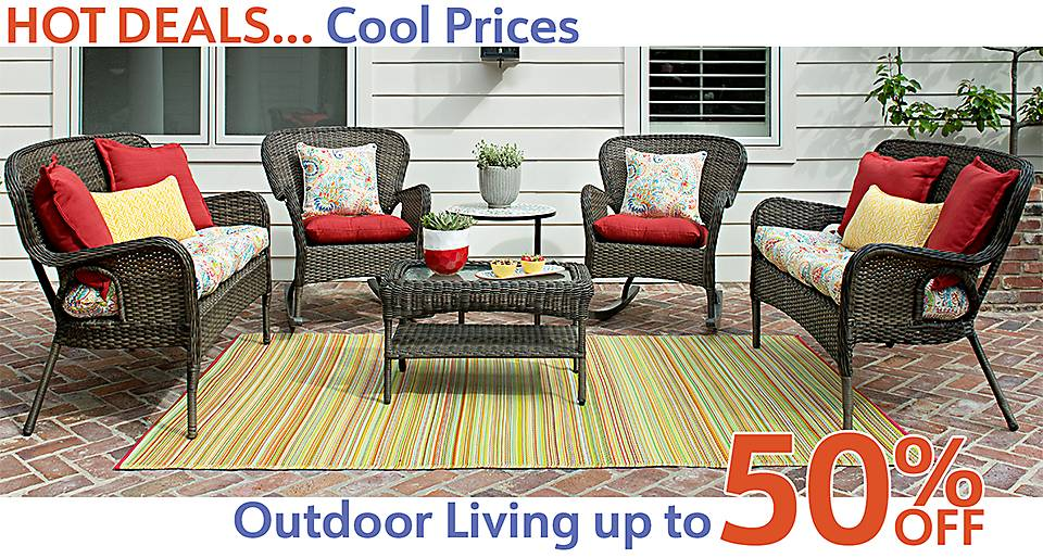Hot Deals - Cool Savings - Outdoor Decor Now Up to 50% Off! - Shop Now