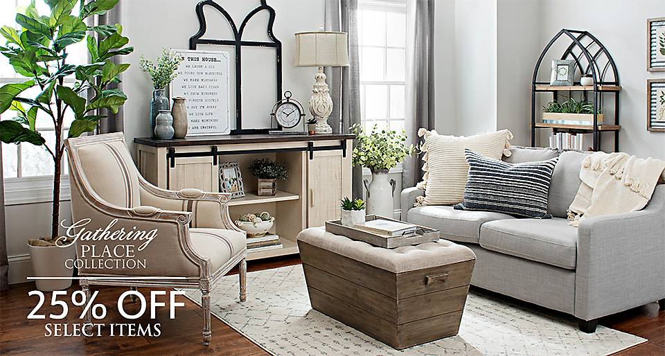 The Gathering Place - 25% off Select Product - Shop Now