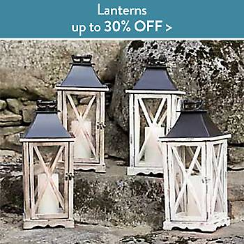 Up To 30% off Lanterns