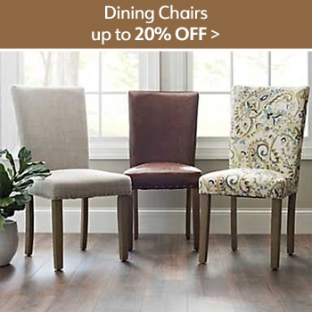 Up to 20% off Dining Chairs