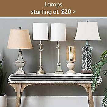 $20 Lamps