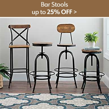 Up to 25% off Bar Stools