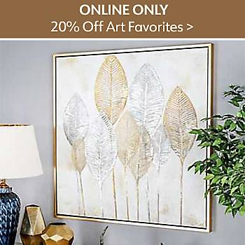 Online Only Art Favorites 20% off