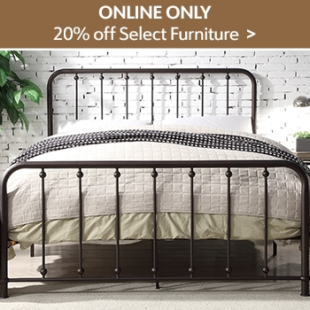Online Only - Select Furniture 20% Off