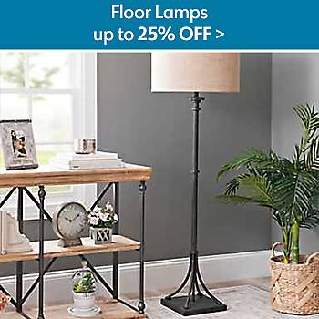 Up to 25% Off Floor Lamps