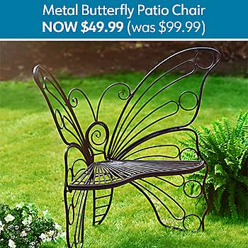 50% Off Butterfly Patio Chair - Now $49.99 (was $99.99)
