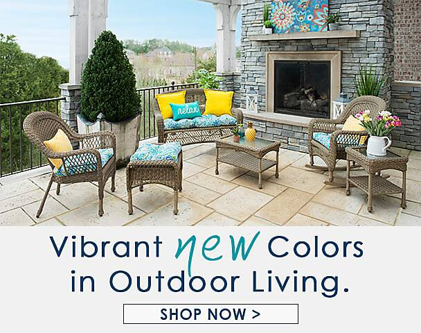 Vibrant new Colors in Outdoor Living - Shop Now
