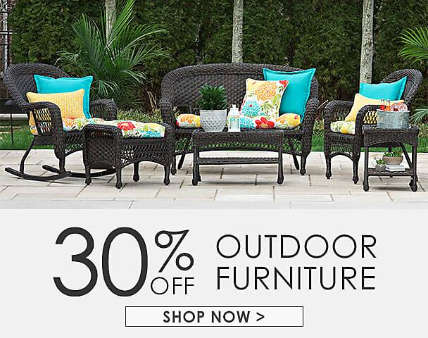 Hello to Summer - 30% Off Outdoor Wicker Furniture - Shop Now