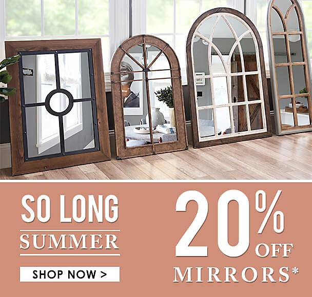 20% Off Mirrors - some exclusiions apply online - Shop Now