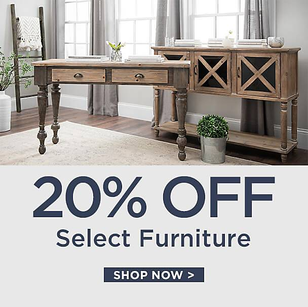20% Off Select Furniture - Shop Now
