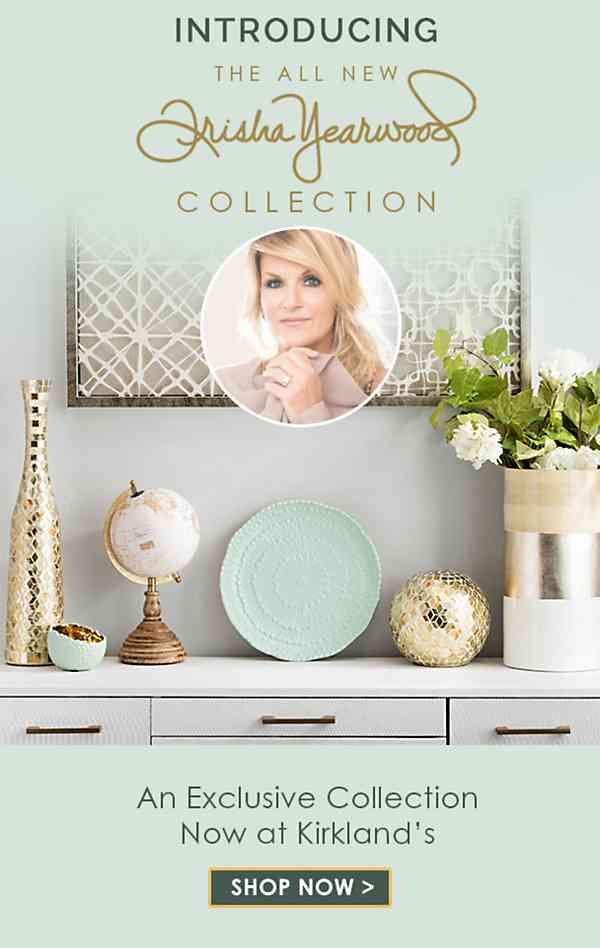 Introducing the all new Trisha Yearwood Collection at Kirklands - Shop Now