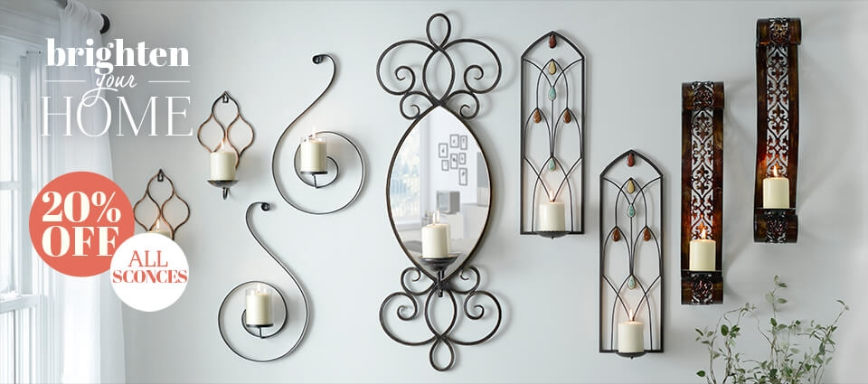 20% OFF All Sconces