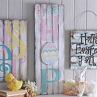 HANG CHEERY EASTER WALL DECOR