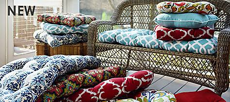 Outdoor Cushion Slection