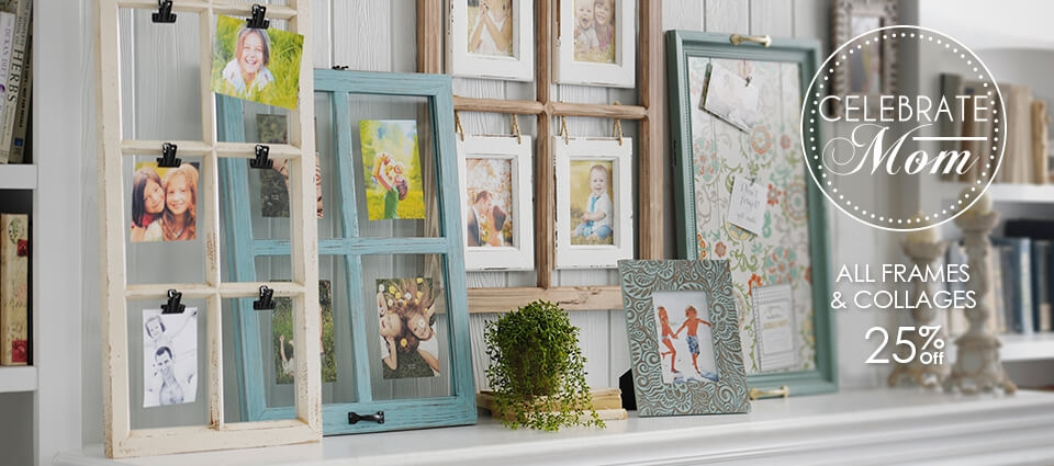 25% OFF All Frames & Collages