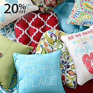 Outdoor Cushions & Pillows on Sale