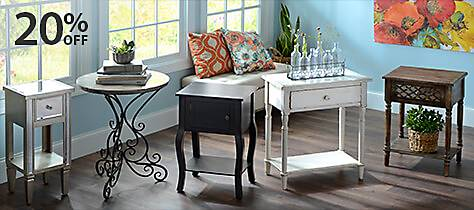 Large Selection of Accent Tables