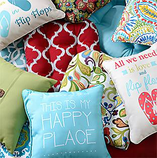 A Fine Selection of Outdoor Cushions